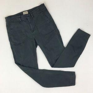 J. Crew Dark Gray Skinny Cargo Military Pants